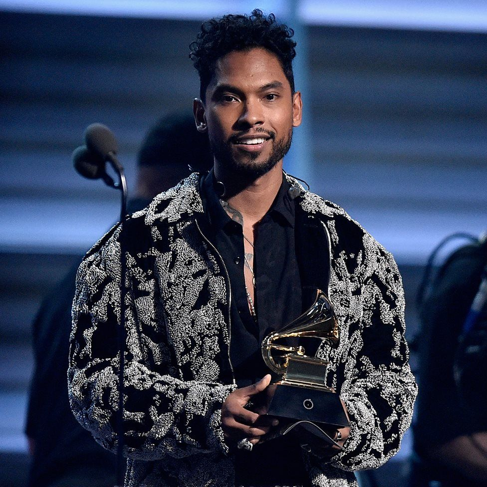Miguel at the 2012 Grammy Awards