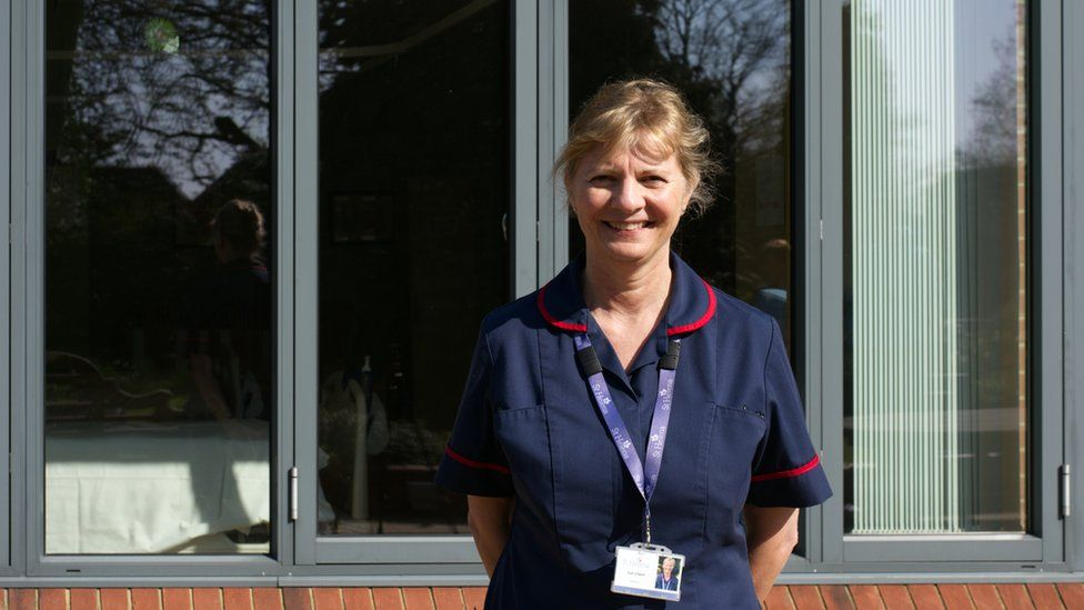 Sue O'Neill, the Matron at St Helena Hospice
