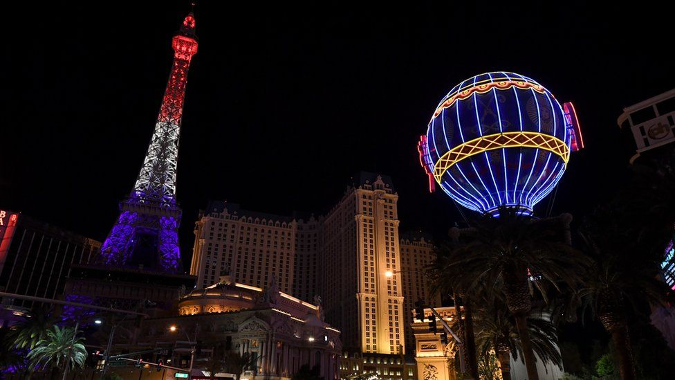 The Eiffel Tower in Las Vegas