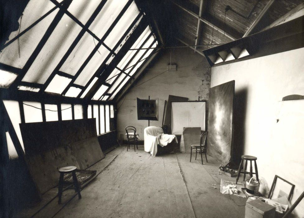 Daylight studio at Belle Vue