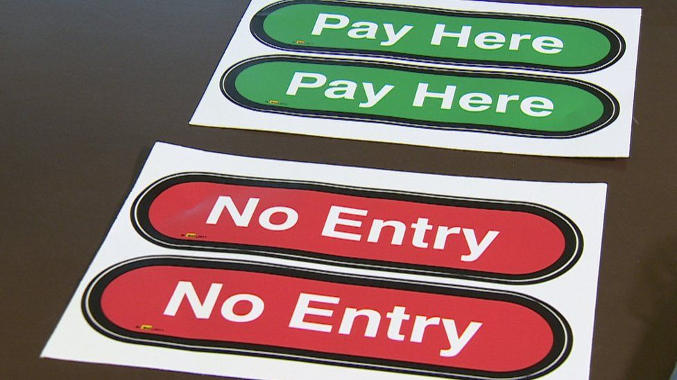 Clear signage is one dementia-friendly measure