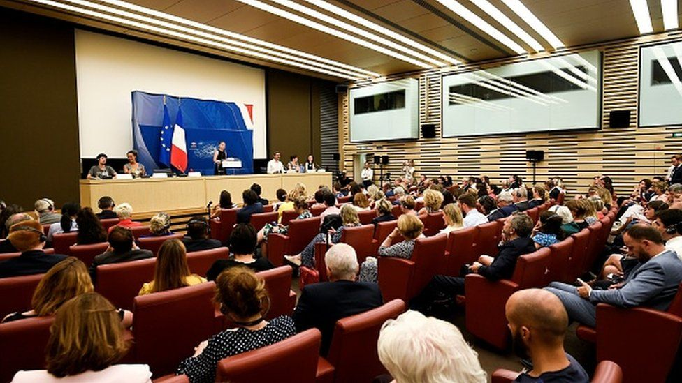 Greta Thunberg addresses the National Assembly in Paris