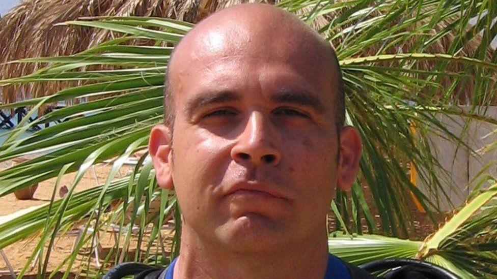 David Kittos who took the skittles photo