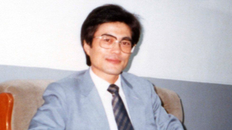 Mr Moon pictured in 1987
