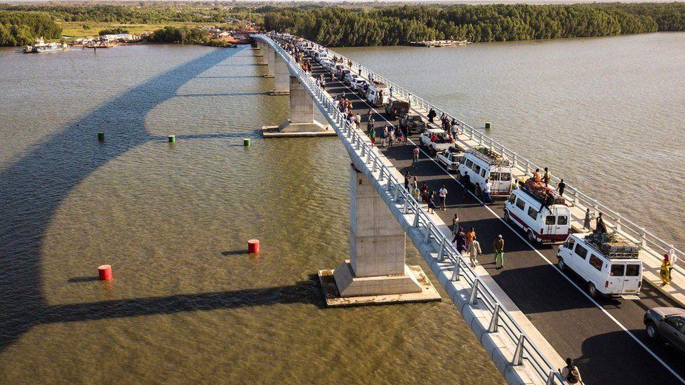 the Senegambia bridge