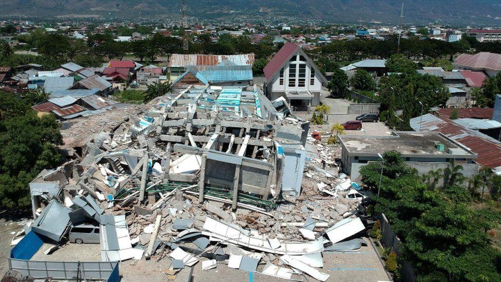 Tsunami Dan Gempa Palu Dalam Gambar Kehancuran Duka Cita Harapan