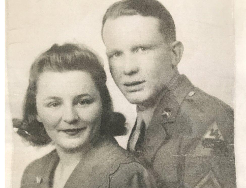 Mr and Mrs Kneeskern