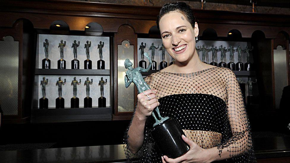 Phoebe Waller-Bridge at the SAG Awards