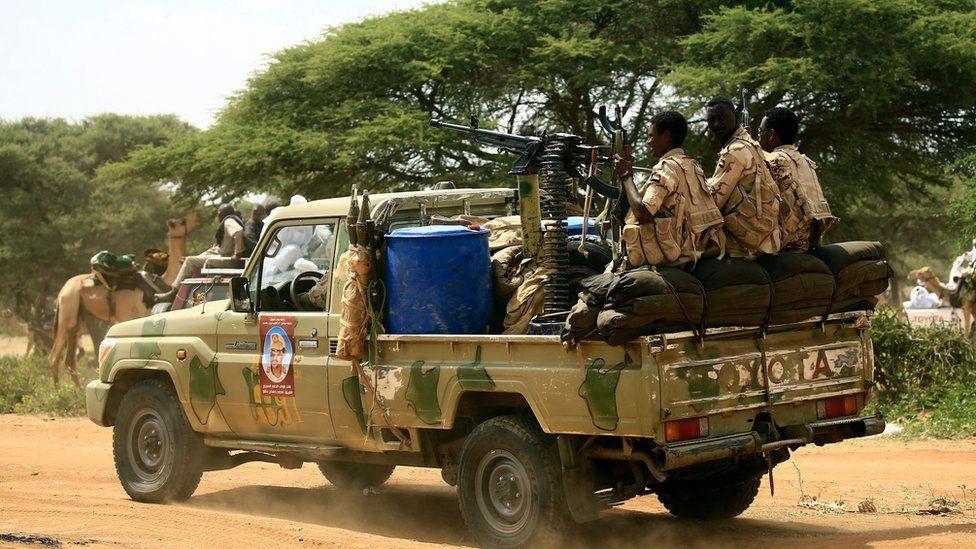 The RSF in Darfur, Sudan - 2017