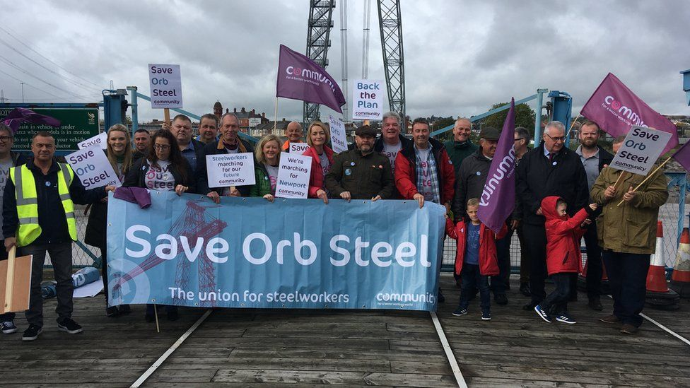 Steel union's plan to save Tata's Orb plant in Newport