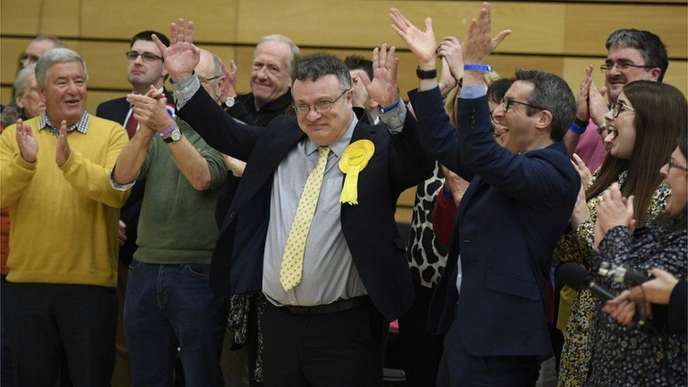 Stephen Farry wins in North Down