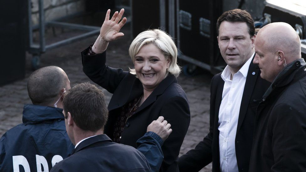 Marine Le Pen, defeated French presidential candidate