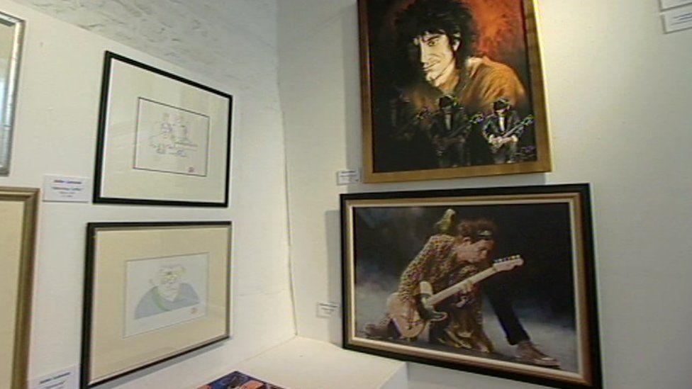 Jonathan Poole, art dealer's art gallery