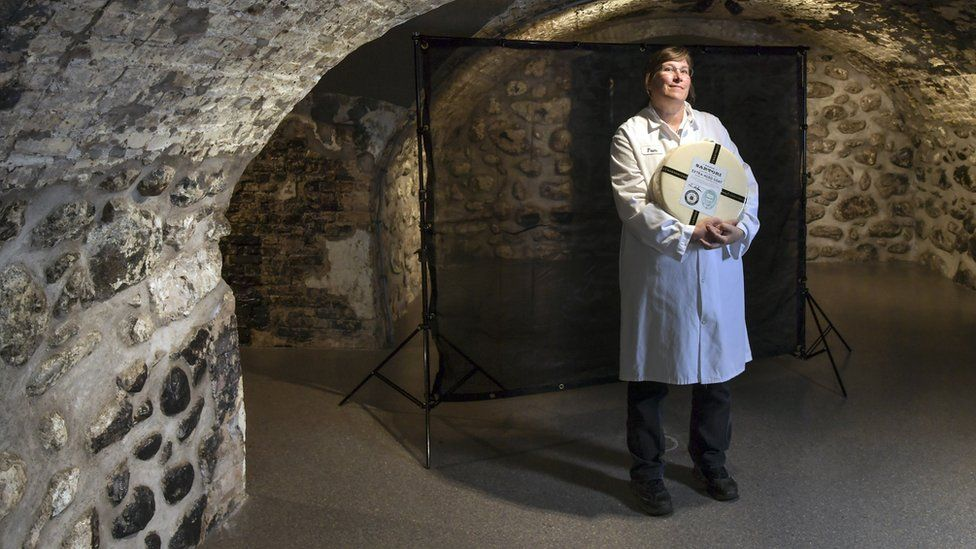 Pam Hodgson, a master cheese-maker at Sartori