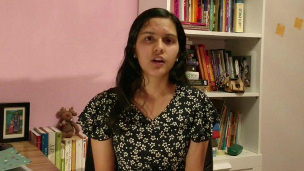 Year 11 student Hemlata