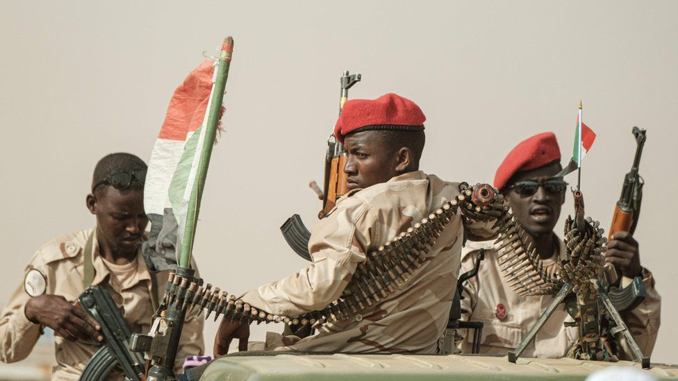 Sudan crisis: The ruthless mercenaries who run the country for gold