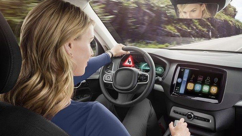 Bosch dashboard screen