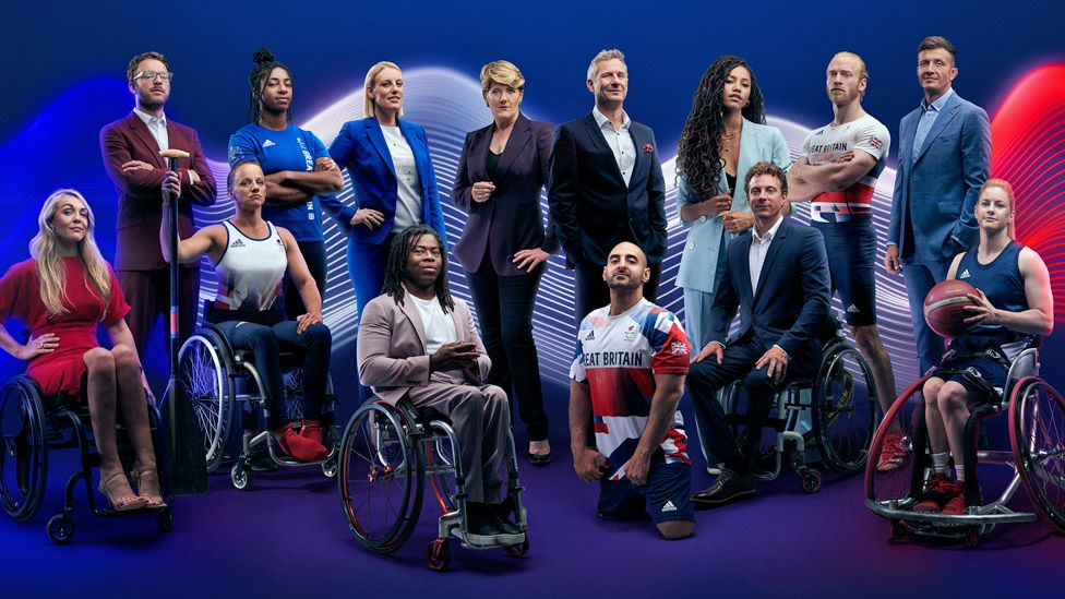 Channel 4's Tokyo Paralympics presenting line-up