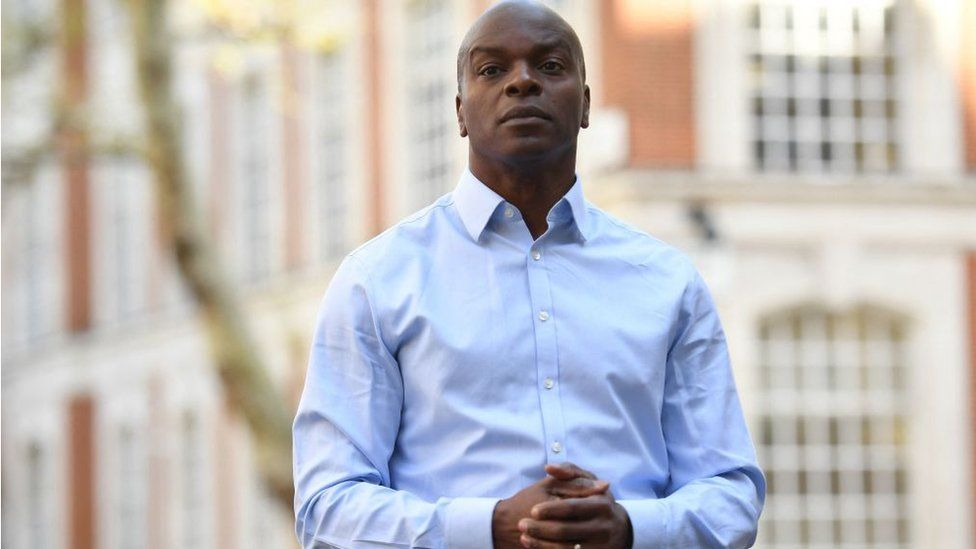Shaun Bailey, Conservative Party candidate for the London mayoral election,