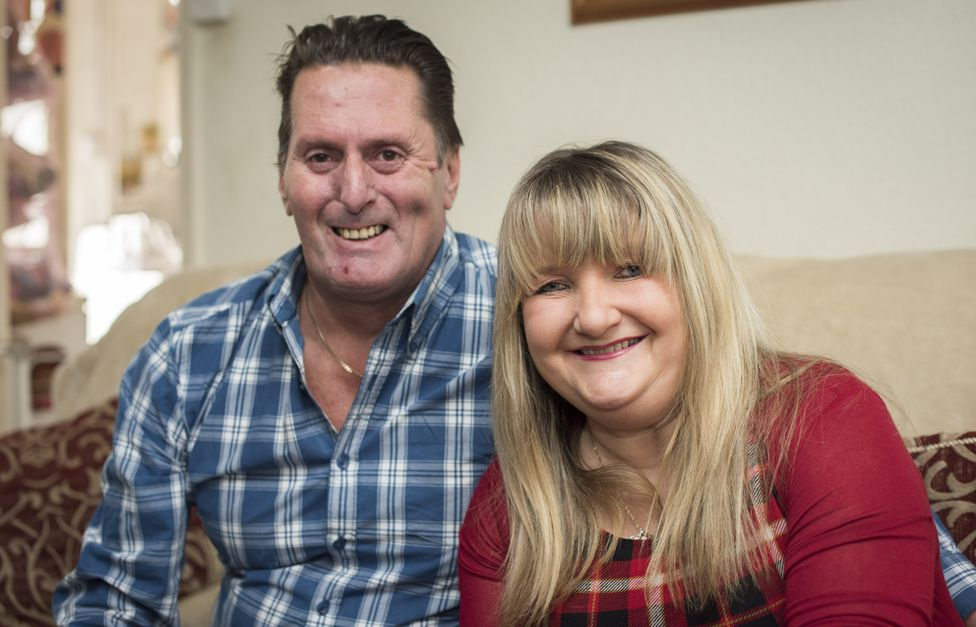 Gary and Rachel at home