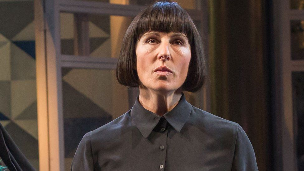 Tamsin Greig as Malvolia in Twelfth Night