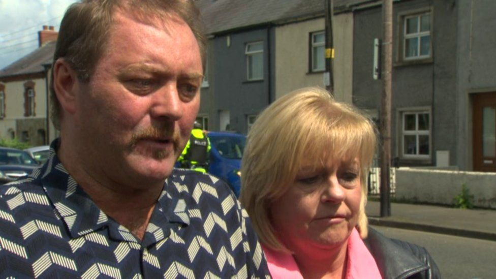 Rod and Karen McIlwaine make an emotional plea for information about their missing son Dean