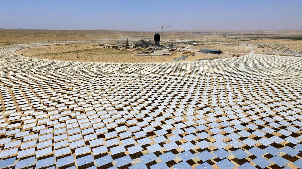 Ashalim solar tower project