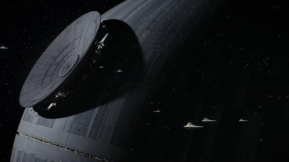 Death Star in Rogue One