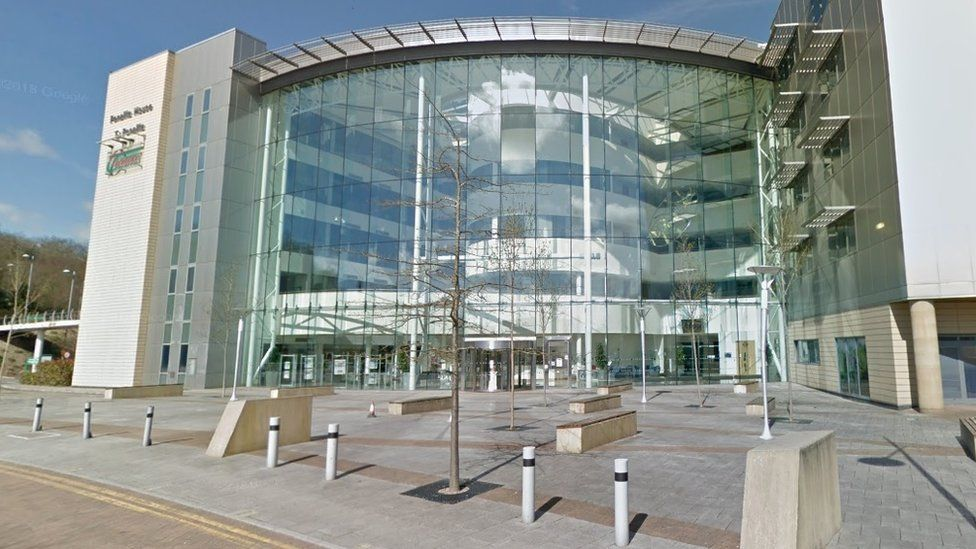 Caerphilly council headquarters