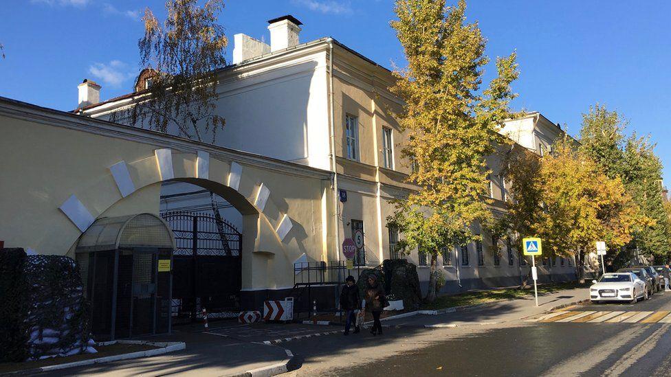 Russian military facility at Komsomolsky prospect 20
