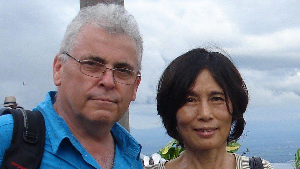 Peter Humphrey with wife Yu Yingzeng