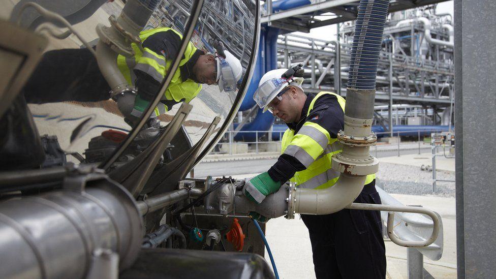 Bioethanol loading