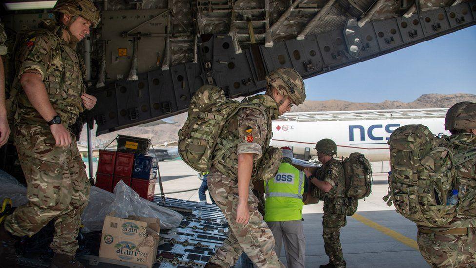 16 Air Assault Brigade arriving in Kabul