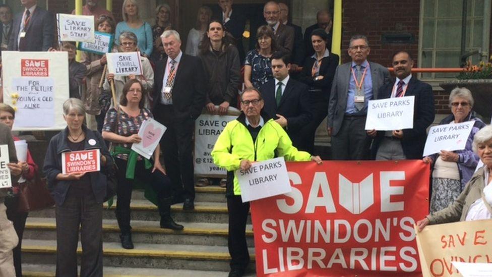 Save Swindon's Libaries