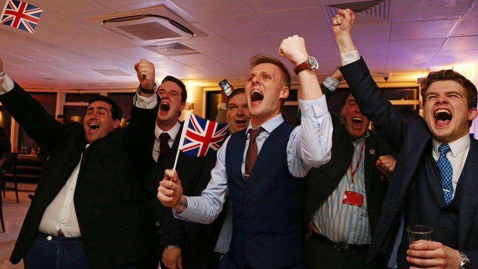 """Image result for Brexit celebrations"""""""