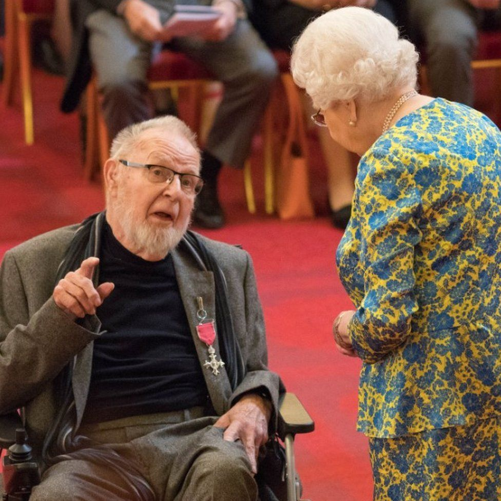 Bryan Kneale: 'Most accomplished' sculptor becomes MBE