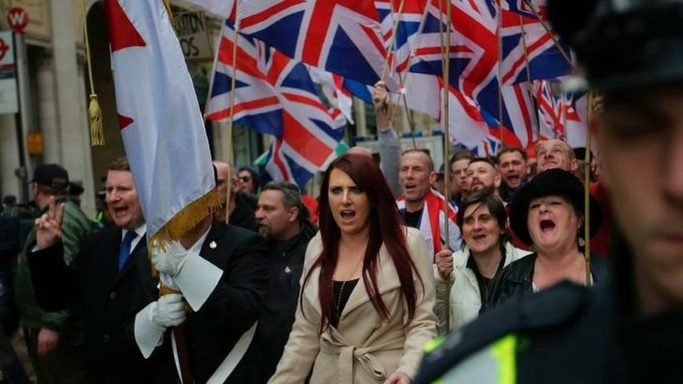 Britain First group fined by UK elections watchdog