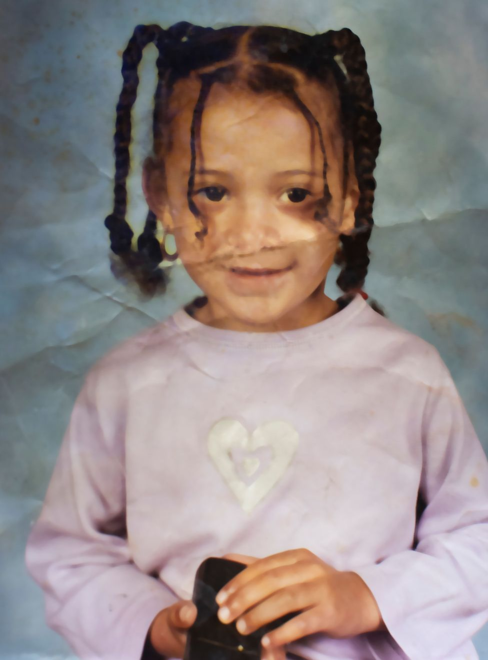 Aliyah as a child