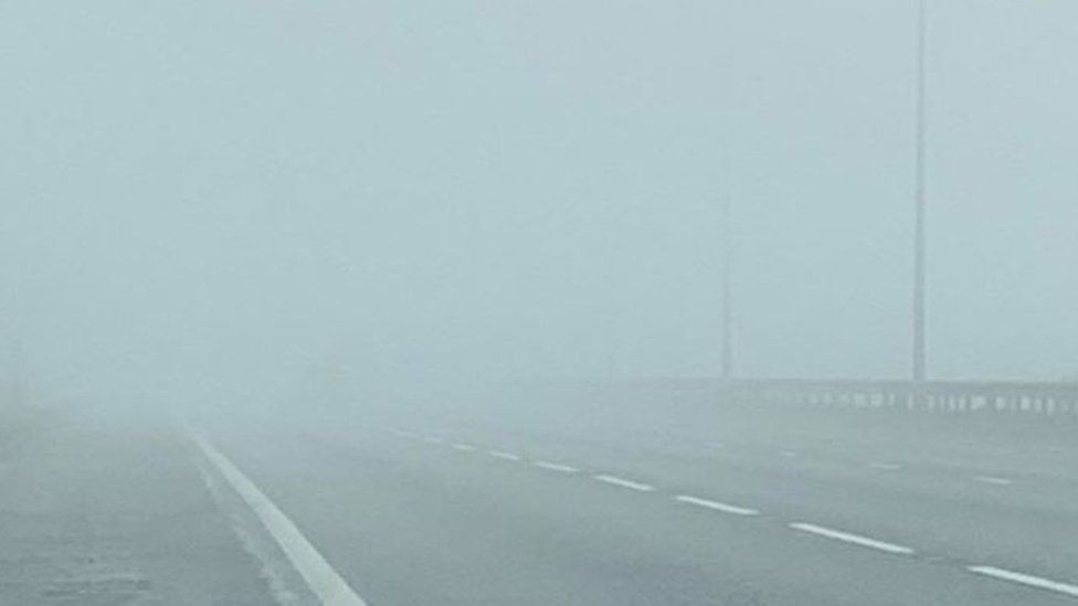 Fog on A1(M)