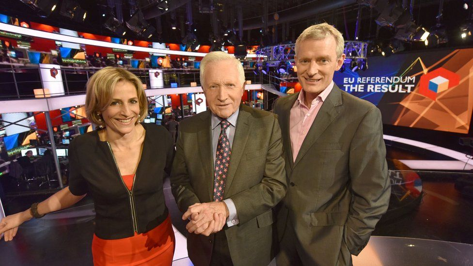 David Dimbleby, Emily Maitlis and Jeremy Vine