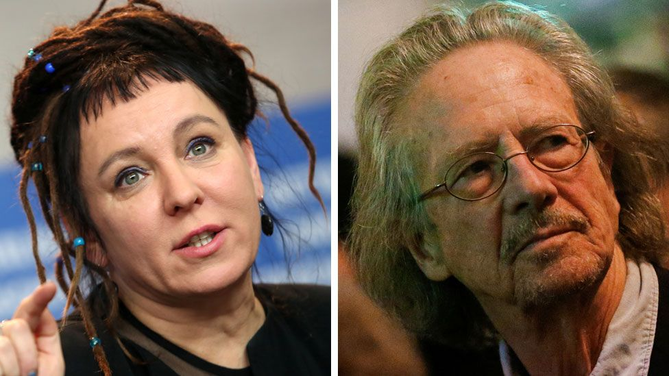 Olga Tokarczuk and Peter Handke win Nobel Prize for Literature for 2018 and 2019