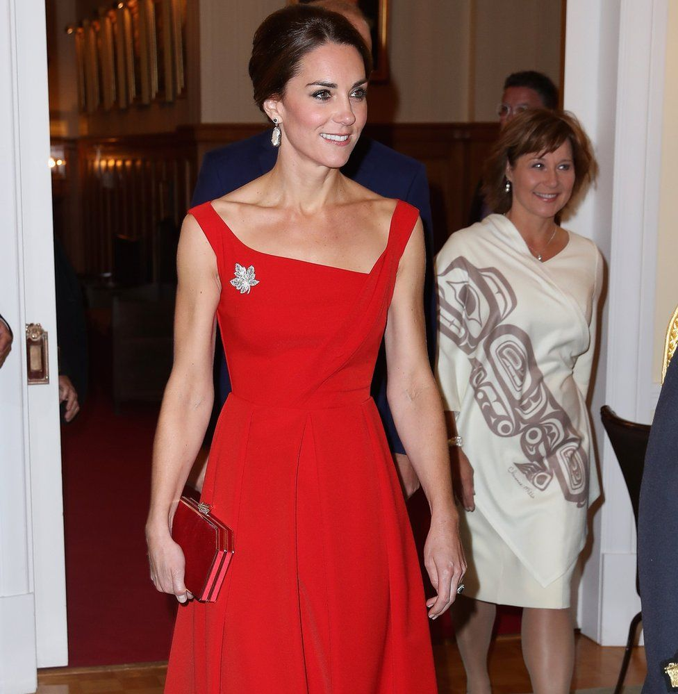 The Duchess of Cambridge attends a reception in British Columbia