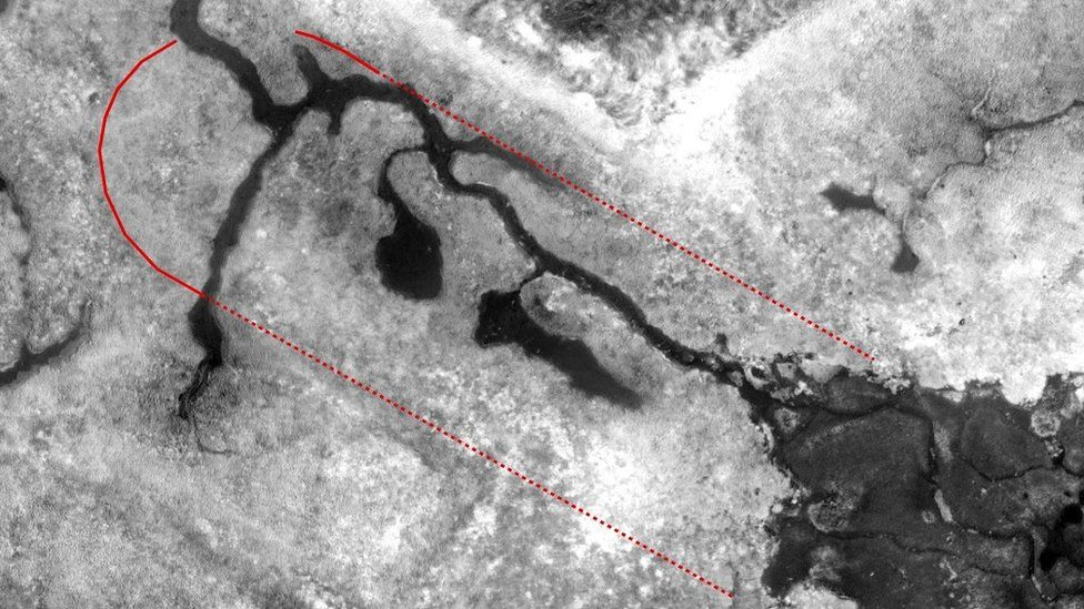 The location of the original mud dock where HMS Beagle was most likely dismantled has been identified
