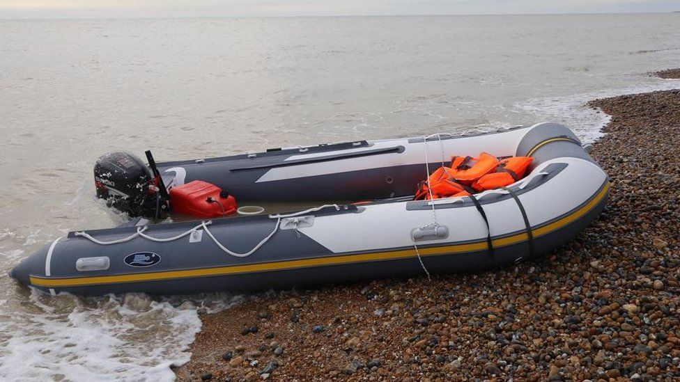 Channel migrants: Two boats found by Border Force