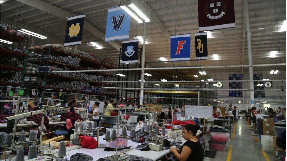 Factory in San Salvador