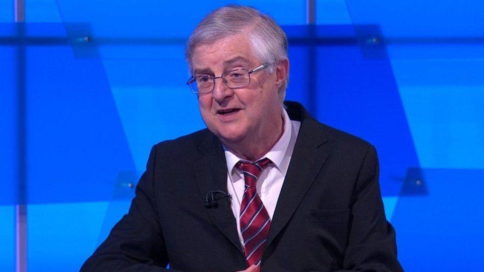 First Minister Mark Drakeford on Newsnight