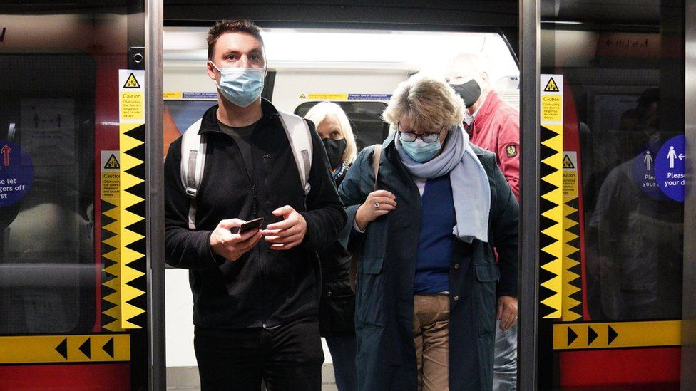 People on tube