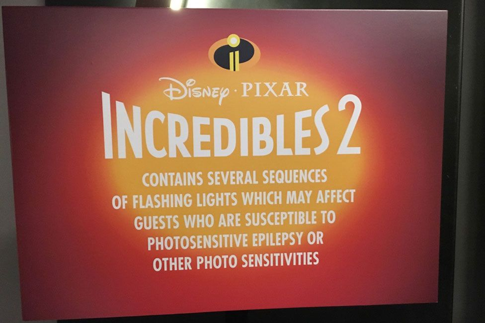 Incredibles 2 sign