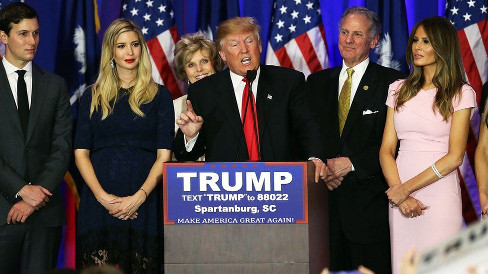 Donald Trump on the campaign