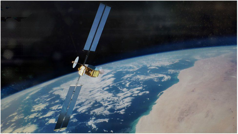 Inmarsat lays big satellite order with Airbus